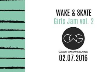 Girls Jam Wake & Skate